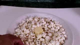 How to make healthy stove top popcorn