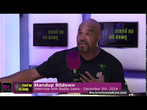 Stand-up, Sit-down W  Buddy Lewis | December 5th, 2014 | Black Hollywood Live video