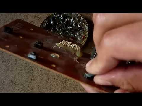 Herramienta casera para desoldar componentes eléctricos