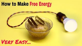 How to Make a Free Energy Electric Generator | Easy Science Project