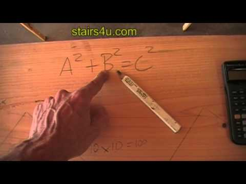 How to Figure out Roof Rafters, Stairs and Other Construction Angle Measurements