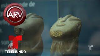 Aseguran que OVNIs sobrevolaron una zona arqueológica | Al Rojo Vivo | Telemundo