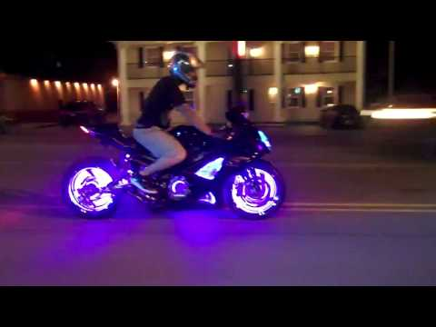 MOTORCYCLE CUSTOM WHEEL LIGHT KITS  ATC 615-431-2294