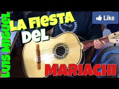 Como Tocar (( Guitarron )) - La Fiesta Del Mariachi (( intro )) Luis Miguel