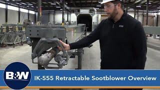 Retractable Sootblower Helix Indexing | Babcock & Wilcox