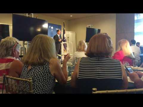 Scott Walker speaks to South Carolina delegation at 2016 RNC