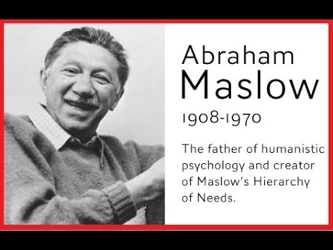 the life and psychological theories of abraham maslow This combination of existentialist philosophy of life and phenomenological  method  humanistic psychology's paradigm was first formulated in abraham  maslow: ,  this theory became a central part of american 'humanistic  psychology',.