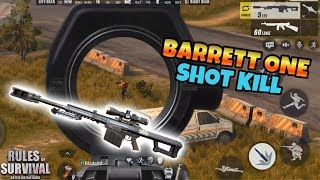 One Shot Kills! Rules of Survival