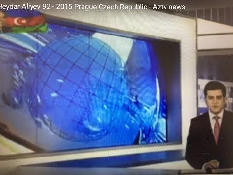 Heydar Aliyev 92 - 2015 Prague Czech Republic - Aztv news