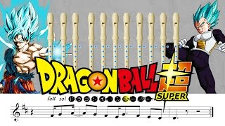 Dragon Ball Super Opening - Flauta dulce TENOR