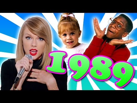 Taylor Swift's 1989 VS The Real 1989!