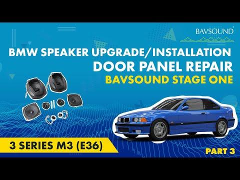 BSW Stage I Speaker Upgrade: Part 3 - BMW e36 3 Series M3 Door Panel Repair