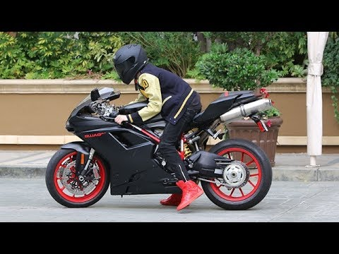 Thrill Seeker Justin Bieber Takes His Ducati For A Cruise [2012]
