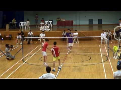 2015 Inter School B Boys Final, Bowen Sec vs Singapore Sports School.