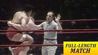 FULL-LENGTH MATCH - MSG - Pedro Morales vs. Ivan Koloff