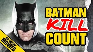 Batman BATMAN V SUPERMAN Movie Kill Count Supercut