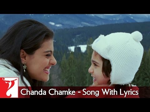 Lyrical: Chanda Chamke - Full Song With Lyrics - Fanaa video