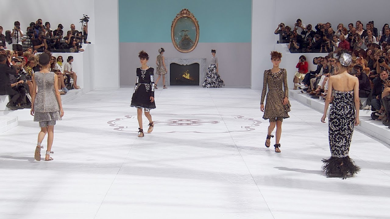 Chanel fashion show grand palais 41