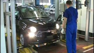 Fiat 500 on the Production Line