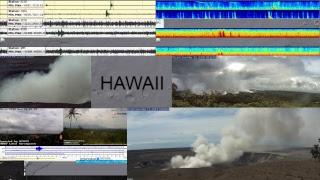 NRT Volcano and Earthquake Dashboard