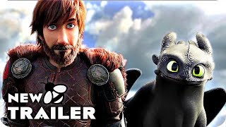 How To Train Your Dragon 3 Trailer (2019) The Hidden World