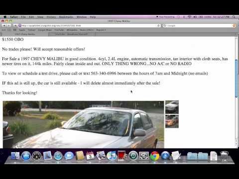 Craigslist Quad Cities Iowa Cars