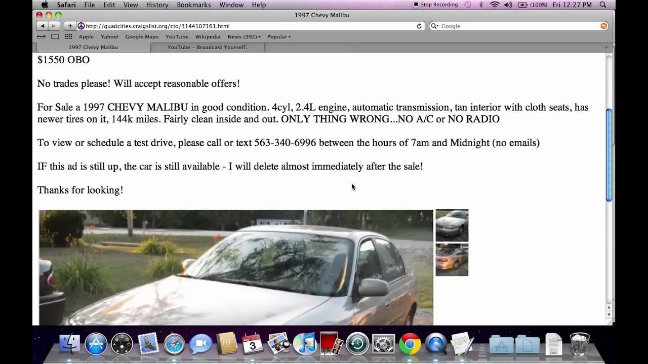 Craigslist Quad Cities Iowa And Illinois Used Cars