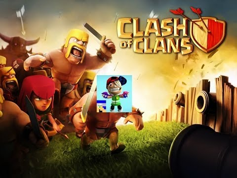 Clash Of Clans #1 | I'm Blind! O_o | Kindle Fire Gameplay