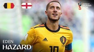 Eden Hazard Goal – Belgium v England – MATCH 63