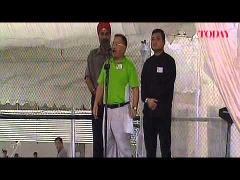 Singapore Democratic Alliance Punggol East by-election candidate Desmond Lim's Nomination Day speech
