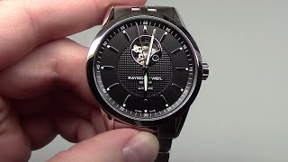 Raymond Weil Freelancer Automatic Open Balance Wheel Men