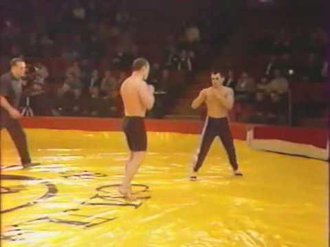 первый бой Вовчанчина Mister Powerman Sekai-1996 четвертьфинал