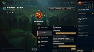 Screen Recording - A input in what makes people toxic in League Of Legends