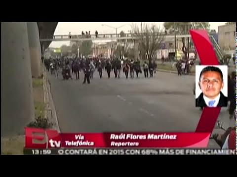 ÚLTIMA HORA: Enfrentamiento entre encapuchados y policías cerca del AICM/ Comunidad
