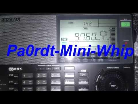 Radio Nikkei 2 (Longwire e Pa0rdt-Mini-Whip) - 9760 kHz