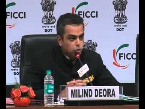Milind Deora's speech during Panel discussion in India Telecom 2012 at FICCI