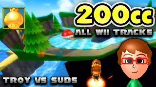 Mario Kart Wii 200cc Online - Troy vs Bodation Nation! (All Wii Tracks)