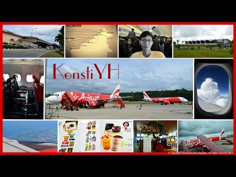AirAsia Flight Review : AK6354 Kuching to Kota Kinabalu by KonstiYH