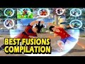Dragon Ball Best Fusion Compilation | All Fusions MOD from the game | DBZ Tenkaichi 3 (MOD)