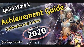 Guild wars 2 - ACHIEVEMENT POINTS FARMING [2018] | A Top 5 GW2 Guide | REWARDS | EASY | BASICS
