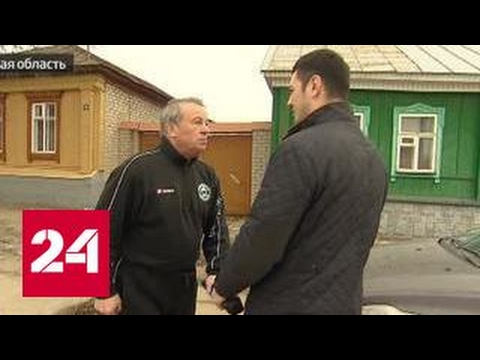 Бывший мэр Ельца набросился на журналистов с топором