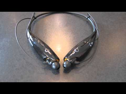 LG Tone HBS 700 Bluetooth Headset Review