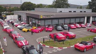 Ferrari 70th Anniversary Celebrations in Birmingham