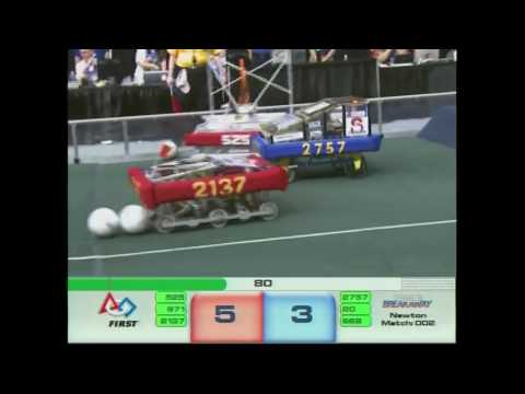 FRC Newton Elimination Quarter-FInal 2-1