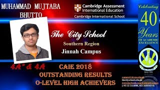 The City School Jinnah Campus ( O- Levels High Achievers )