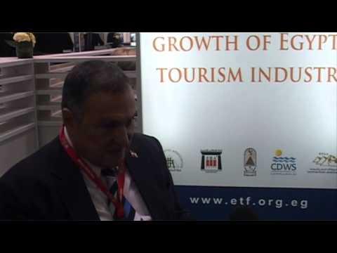 Elhamy ElZayat, Chairman, Egypt Tourism Federation @ ITB Berlin 2012