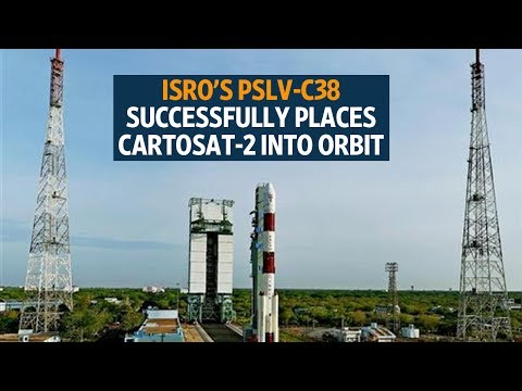 Isro's PSLV-C38 successfully places Cartosat-2, 30 other satellites into orbit