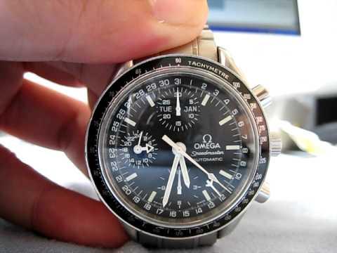 Omega Speedmaster Triple Date Chronograph Omega Speedmaster Day Date