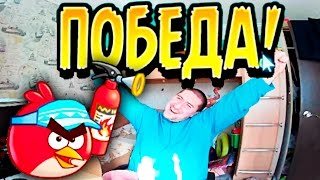 Angry Birds Figh Проходим вторую главу! Angry Birds Figh Pass the second Chapter! RIVO!
