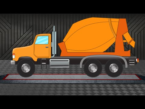 Cement Mixture Truck | Formation & Uses | Construction Vehicles